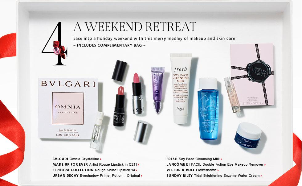 Sephora Holiday Promo – Sample Bag #2